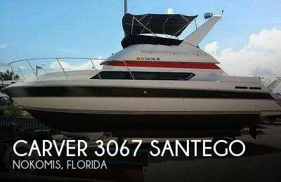 1989 Carver 3067 Santego - Photo #1