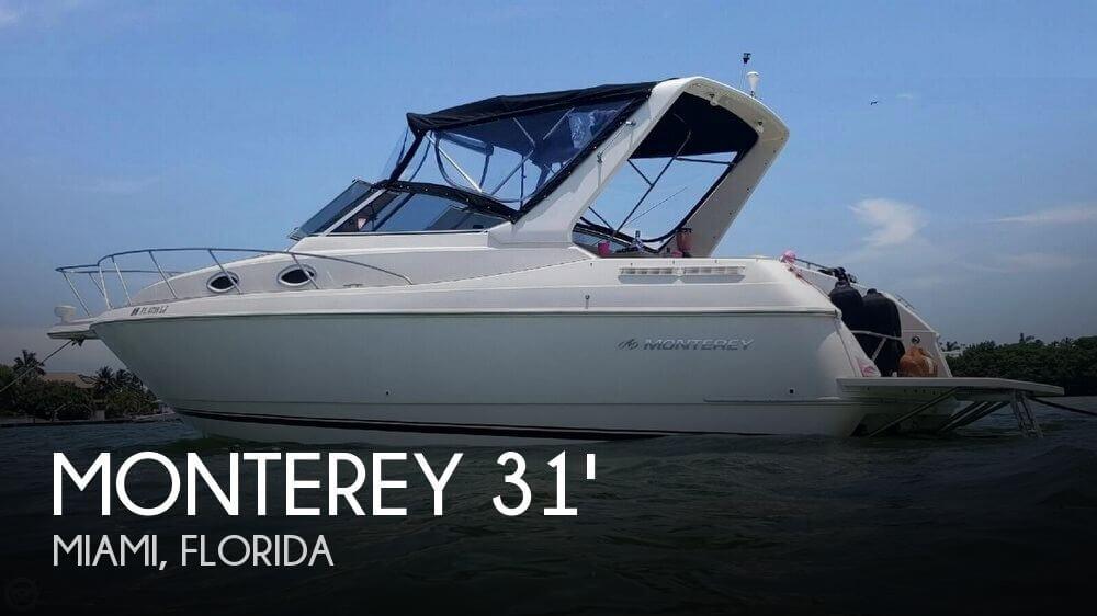 For Sale Used 2000 Monterey 296 Cruiser In Miami Florida