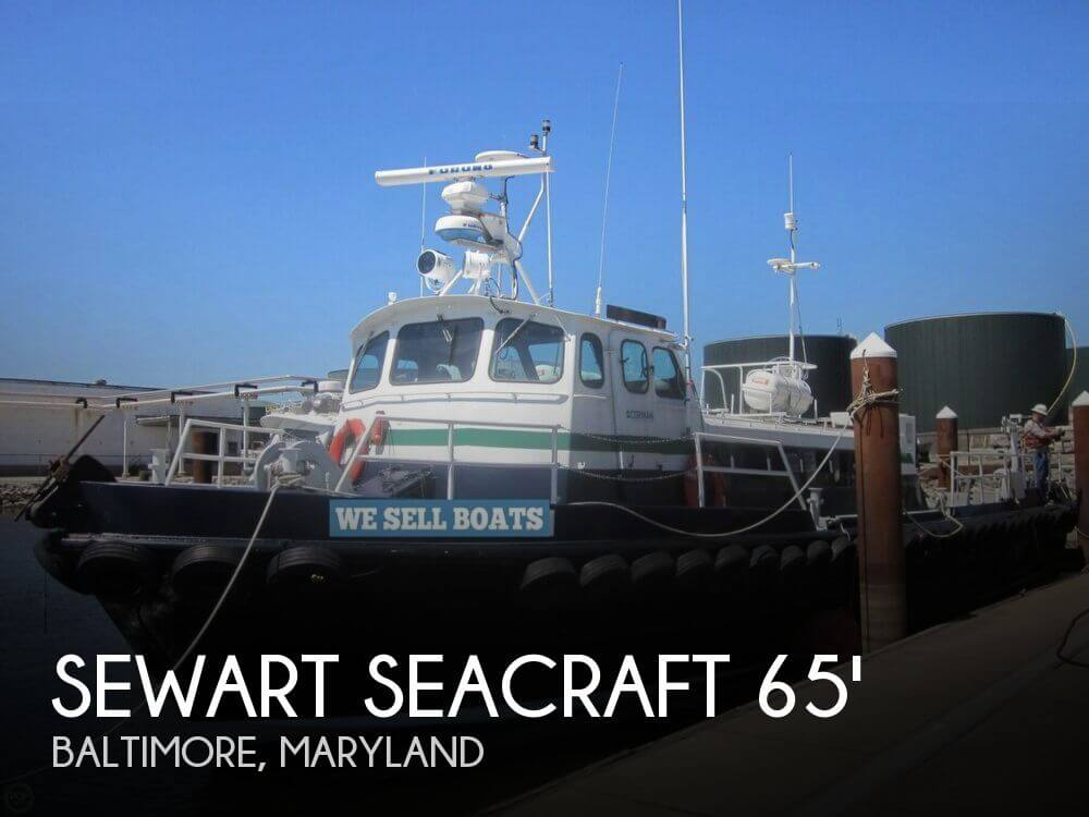 Used Boats For Sale in Maryland by owner | 1964 Sewart Seacraft 65 AL200