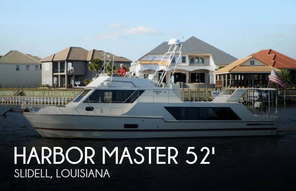 Used Harbor Master Boats For Sale by owner | 1988 Harbor Master 52 Coastal