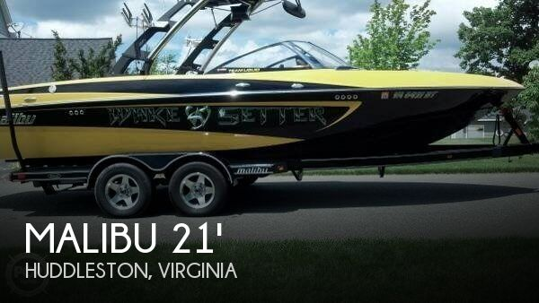 2010 MALIBU VLX 21 WAKESETTER for sale