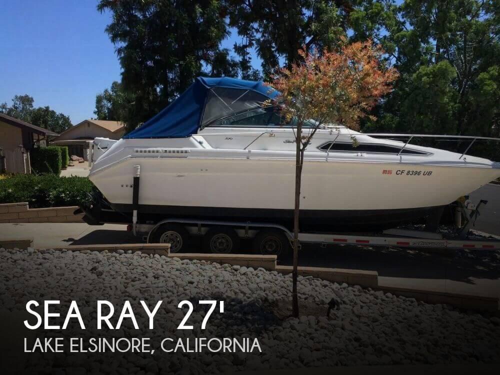 1992 Sea Ray 27 - Photo #1