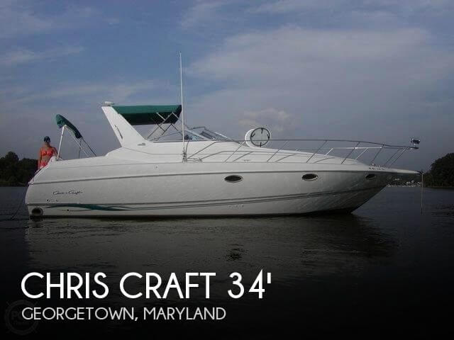 1996 Chris Craft 34 - Photo #1