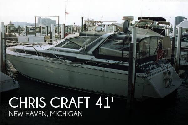 Used Chris Craft Boats For Sale in Michigan by owner | 1988 Chris Craft 41