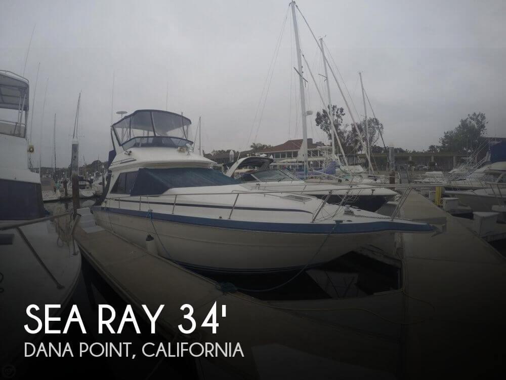 1988 SEA RAY 345 SEDAN BRIDGE for sale