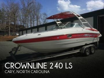 Used Boats For Sale in Greensboro, North Carolina by owner | 2008 Crownline 25