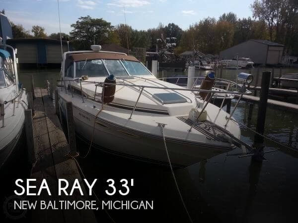 Used Sea Ray Boats For Sale in Michigan by owner   1987 Sea Ray 33