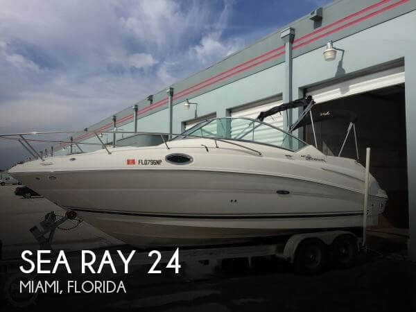 Used Sea Ray 24 Boats For Sale by owner | 2007 Sea Ray 24