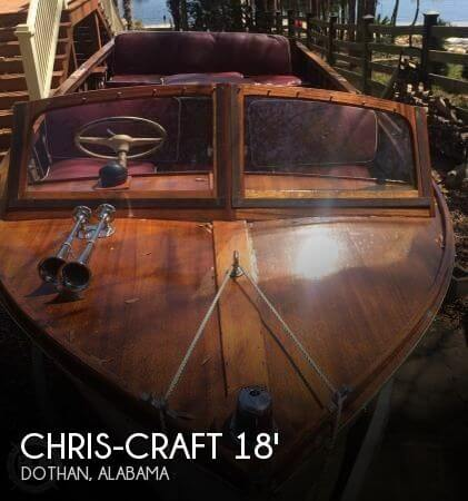 Used Boats For Sale in Dothan, Alabama by owner | 1958 Chris-Craft 18