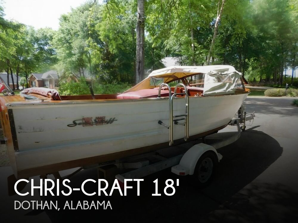1958 Chris Craft boat for sale, model of the boat is Sea Skiff 18 & Image # 1 of 40