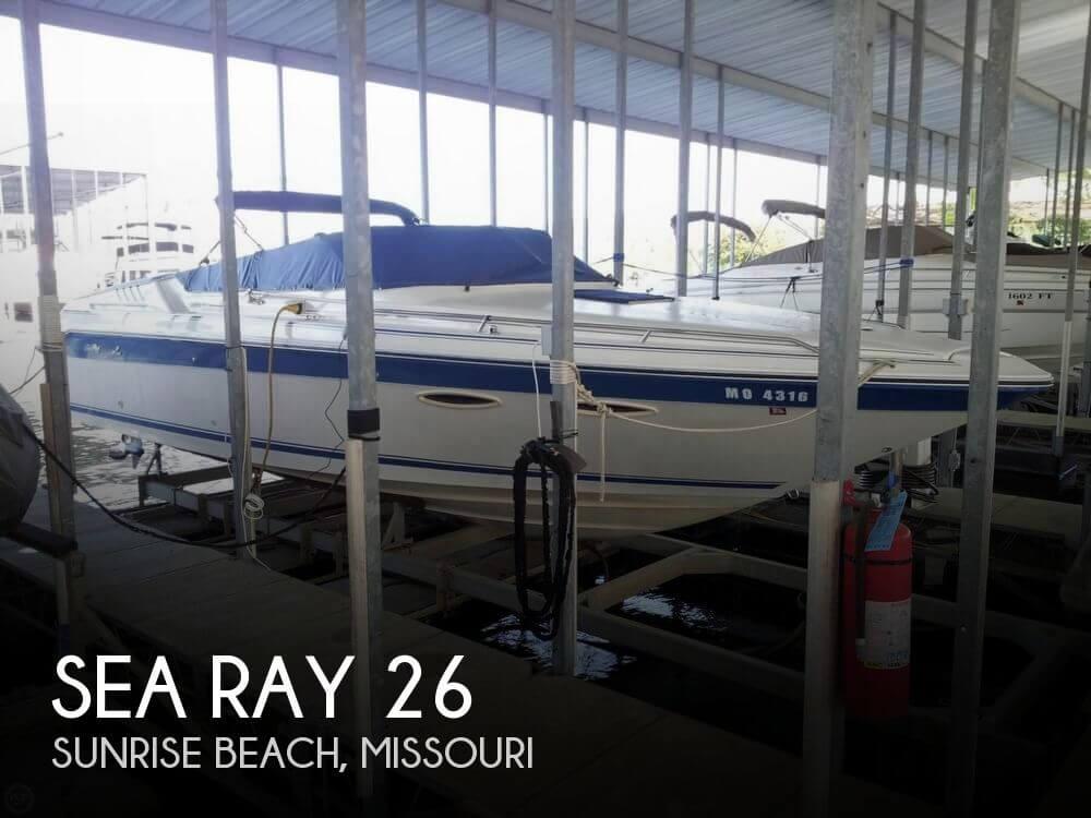 1989 Sea Ray 26 - Photo #1