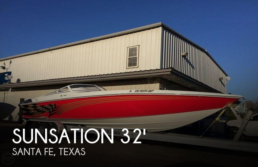 Used Boats For Sale in Beaumont, Texas by owner | 2006 Sunsation 32
