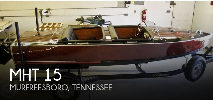 Used Boats For Sale in Clarksville, Tennessee by owner | 2013 Mahogany Heartthrobs 15