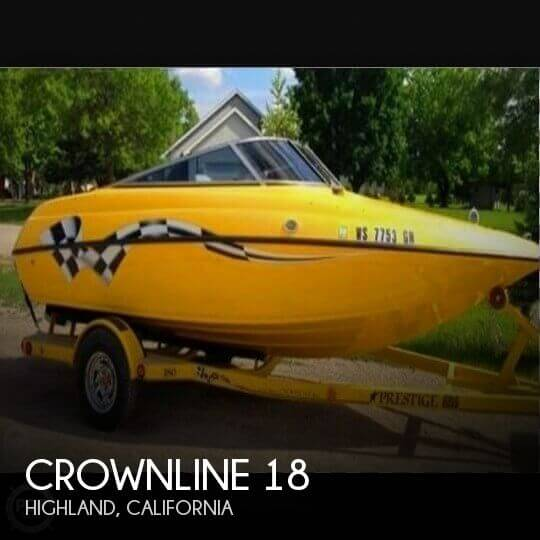 Used Crownline Boats For Sale in California by owner | 2007 Crownline 18