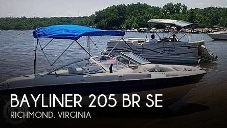 2006 BAYLINER 205 BR SE for sale