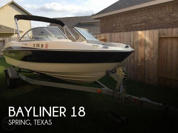 Used Boats For Sale by owner | 2012 Bayliner 18