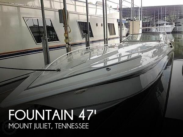 Used Boats For Sale in Clarksville, Tennessee by owner | 1997 Fountain 47