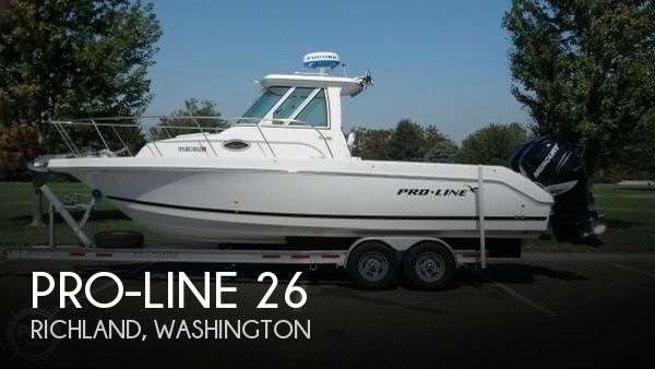 Used Power boats For Sale in Washington by owner | 2008 Pro-Line 26