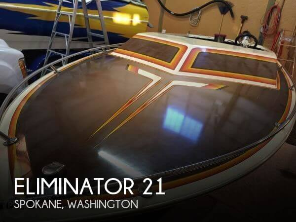 Used High Performance Boats For Sale in Washington by owner | 1982 Eliminator 21