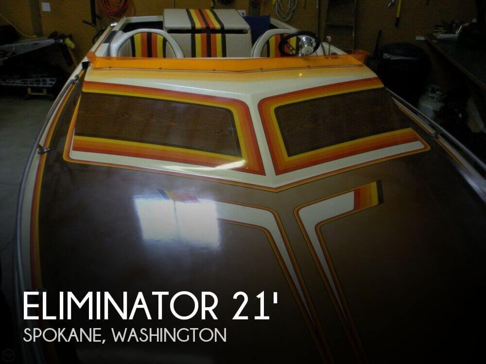 1982 ELIMINATOR 21 DAY CRUISER for sale