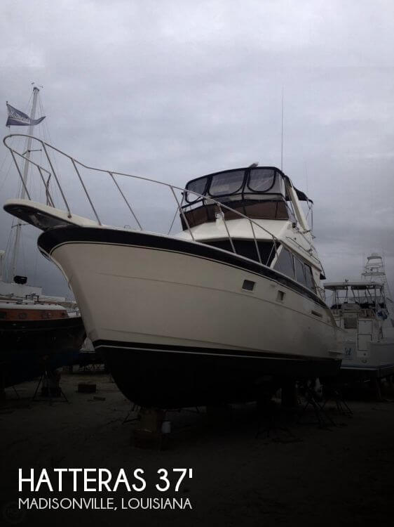 Used Boats For Sale in Baton Rouge, Louisiana by owner | 1978 Hatteras 37