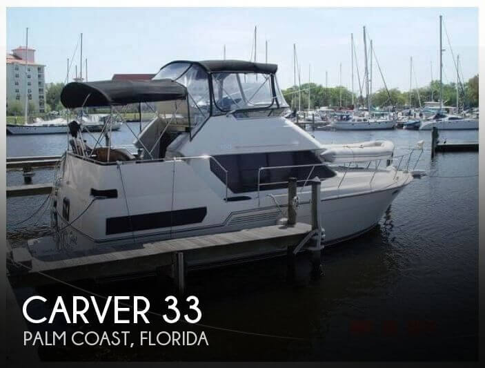Used Carver Boats For Sale in Florida by owner | 1993 Carver 33