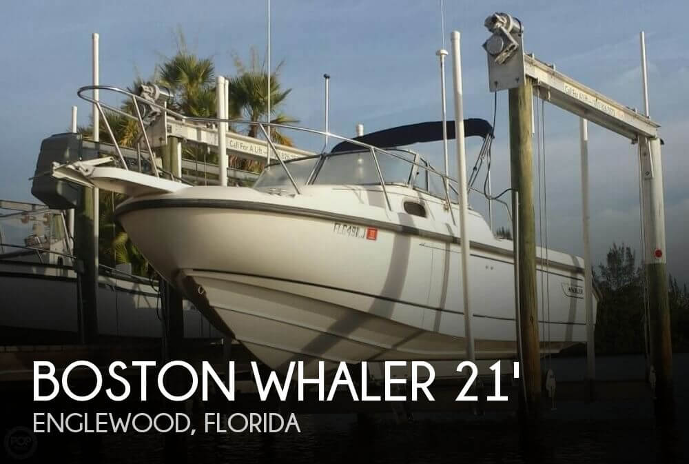 Boston whaler conquest 21 for sale in englewood fl for for Fishing in englewood florida