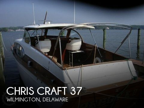 1955 Chris Craft 37 - Photo #1