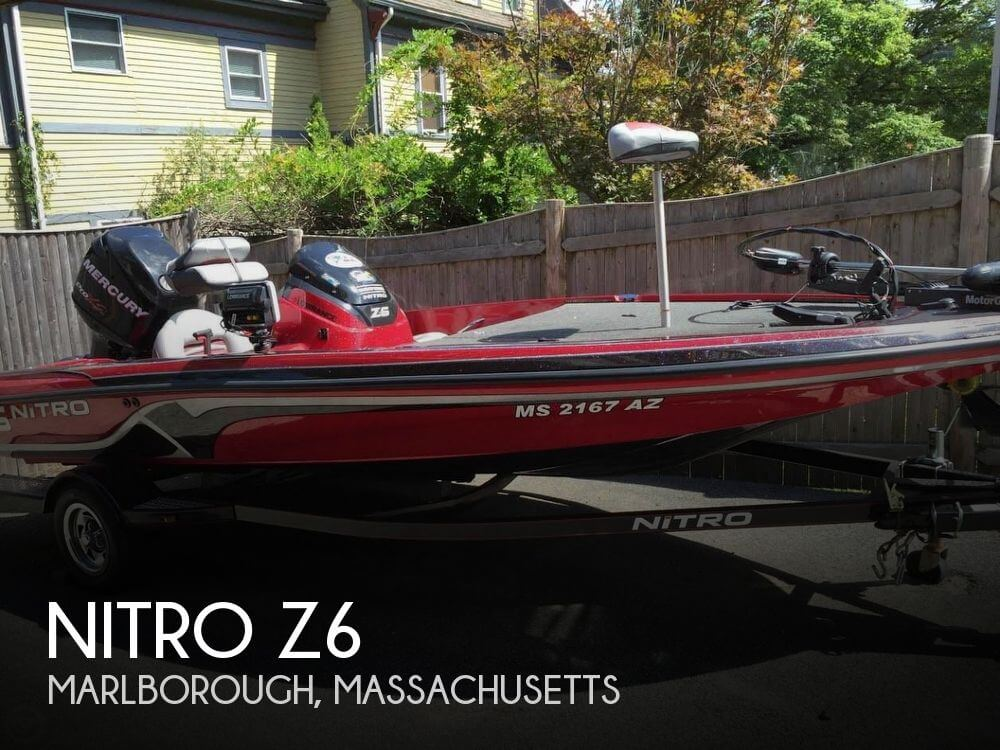Nitro 17 39 boat for sale in marlborough ma for 20 500 for Bass fishing boats for sale