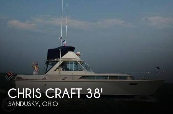 1964 Chris Craft 38 Commander Flybridge Express - Photo #1