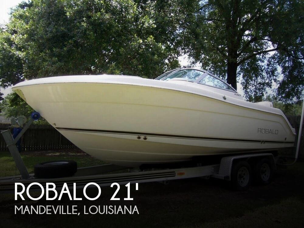 2007 ROBALO 227 DUAL CONSOLE for sale