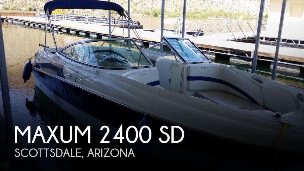 2004 Maxum 2400 SD - Photo #1