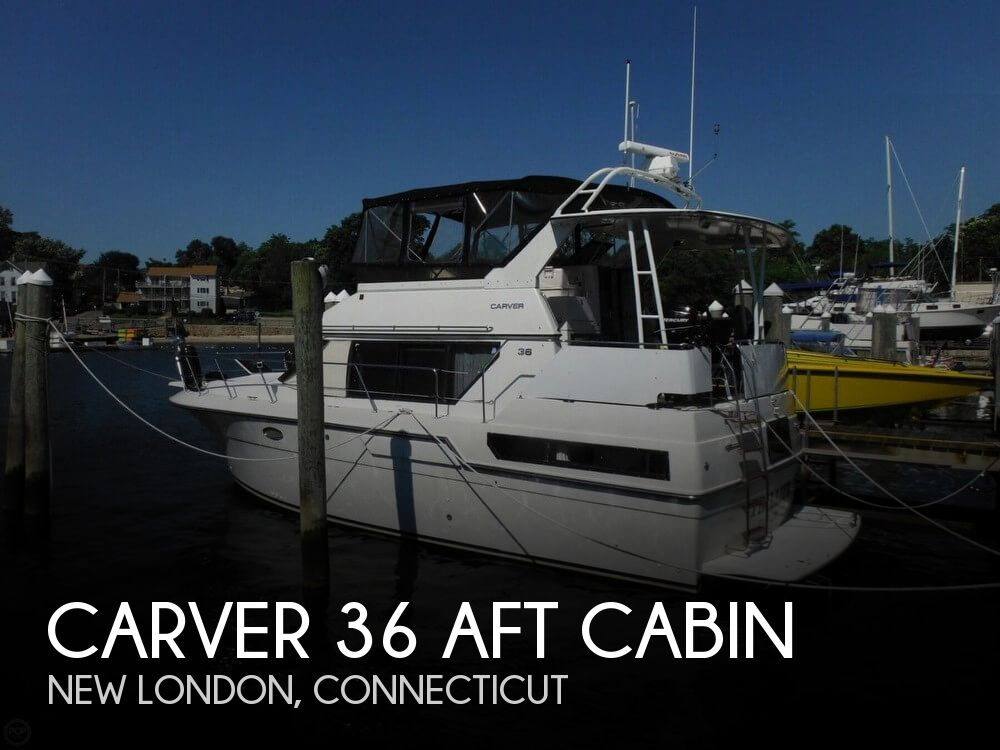 1991 CARVER 36 AFT CABIN for sale