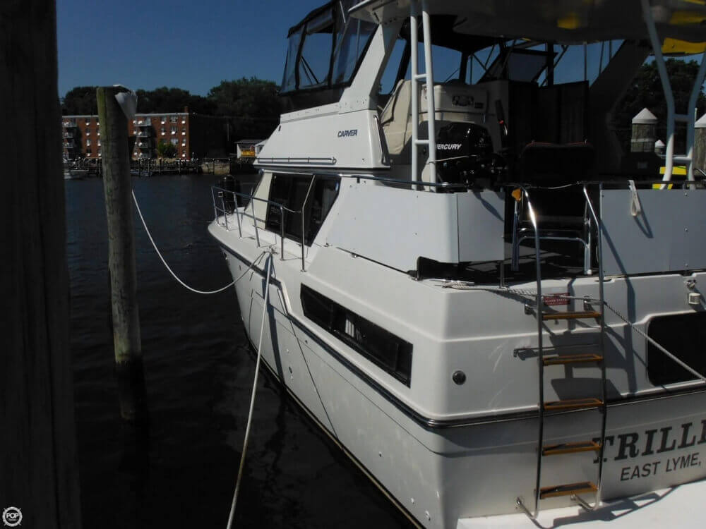 1991 Carver boat for sale, model of the boat is 36 Aft Cabin & Image # 16 of 40