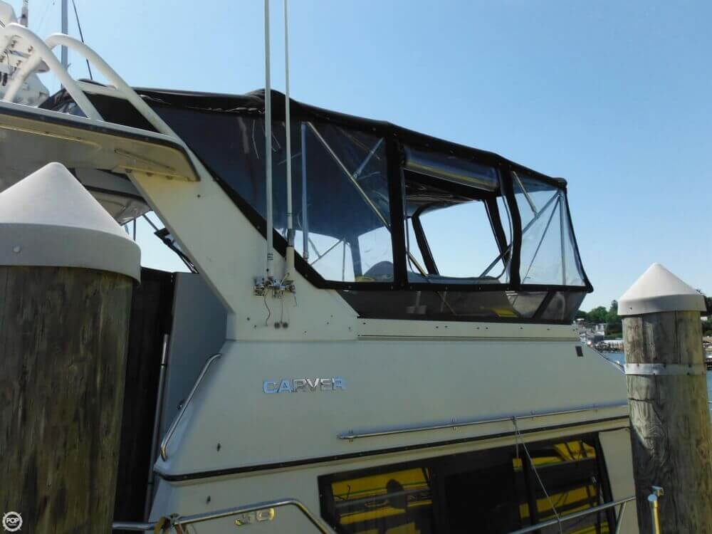 1991 Carver boat for sale, model of the boat is 36 Aft Cabin & Image # 18 of 40