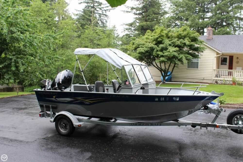2010 Smoker Craft boat for sale, model of the boat is 162 Tracer & Image # 15 of 40