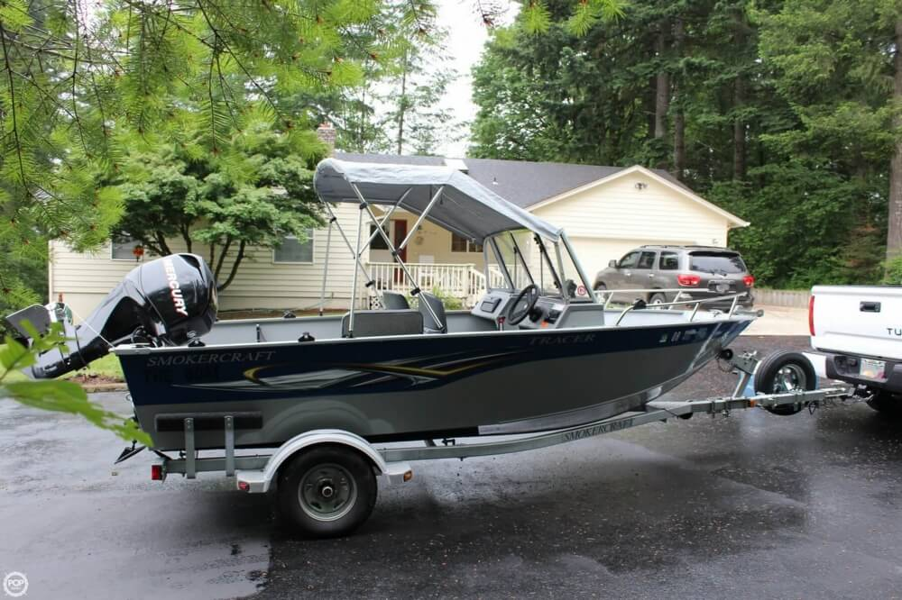 2010 Smoker Craft boat for sale, model of the boat is 162 Tracer & Image # 3 of 40