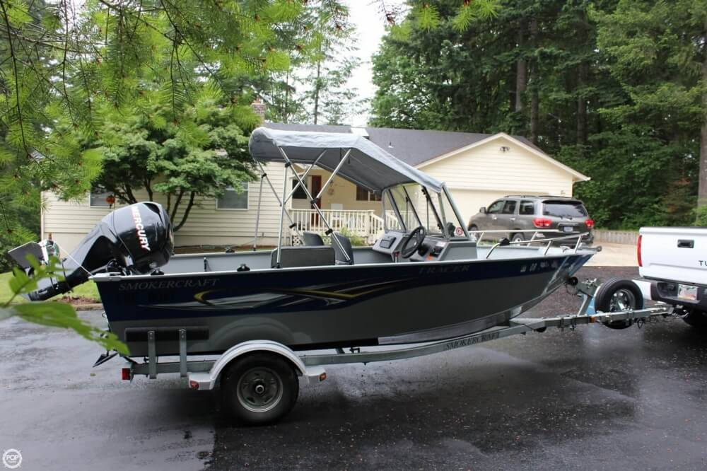 2010 Smoker Craft boat for sale, model of the boat is 162 Tracer & Image # 16 of 40