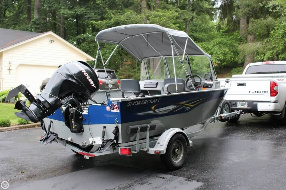 2010 Smoker Craft boat for sale, model of the boat is 162 Tracer & Image # 17 of 40