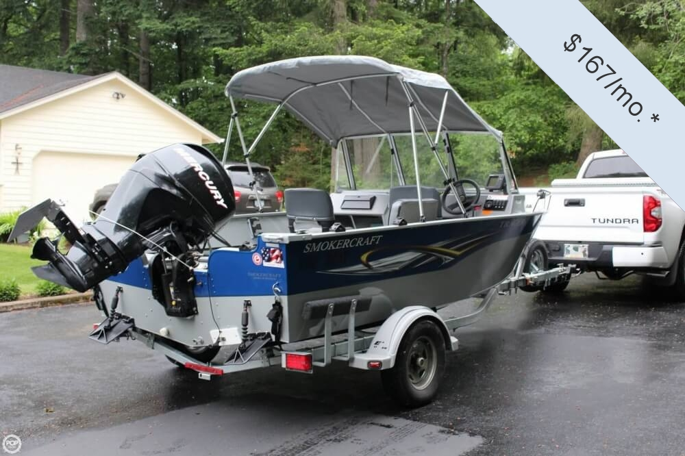 2010 Smoker Craft boat for sale, model of the boat is 162 Tracer & Image # 2 of 40