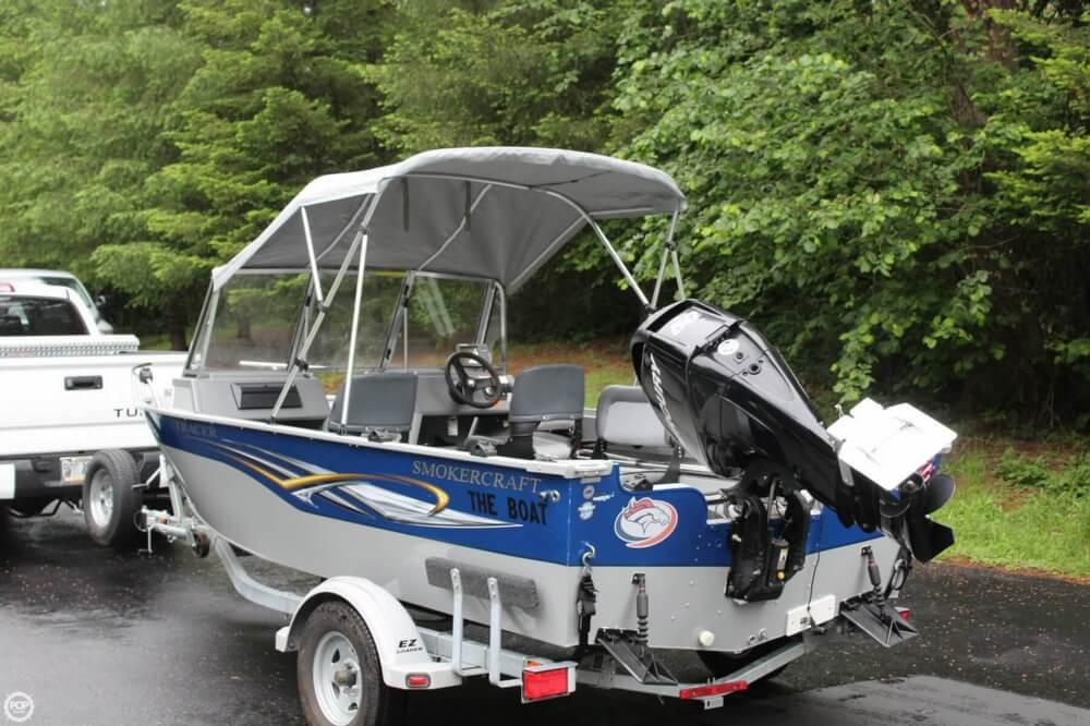 2010 Smoker Craft boat for sale, model of the boat is 162 Tracer & Image # 19 of 40