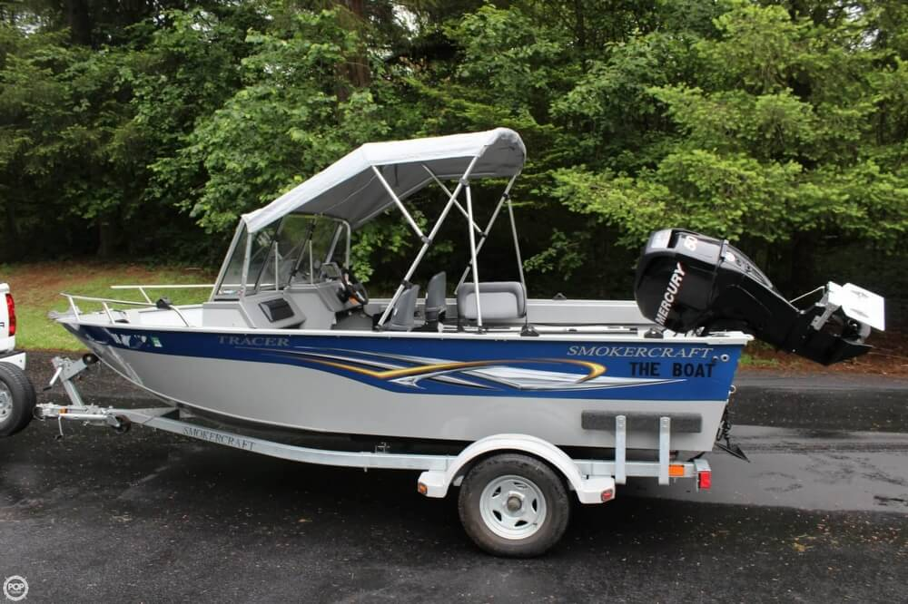 2010 Smoker Craft boat for sale, model of the boat is 162 Tracer & Image # 20 of 40