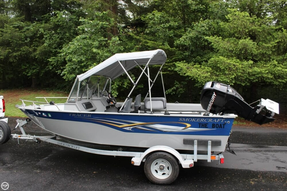 2010 Smoker Craft boat for sale, model of the boat is 162 Tracer & Image # 6 of 40