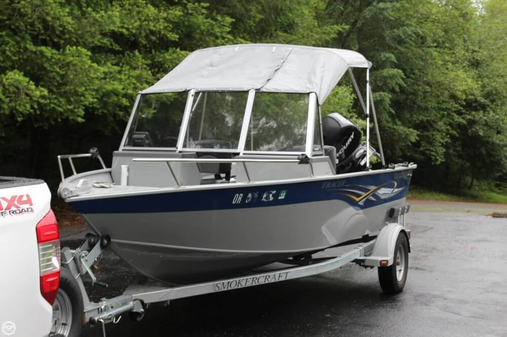2010 Smoker Craft boat for sale, model of the boat is 162 Tracer & Image # 5 of 40