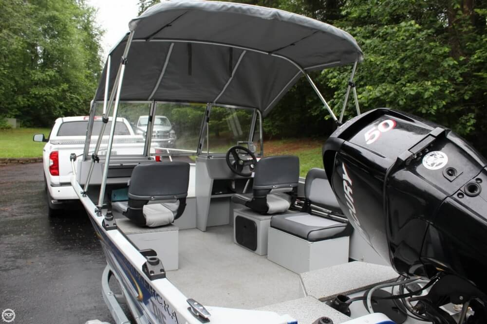 2010 Smoker Craft boat for sale, model of the boat is 162 Tracer & Image # 13 of 40