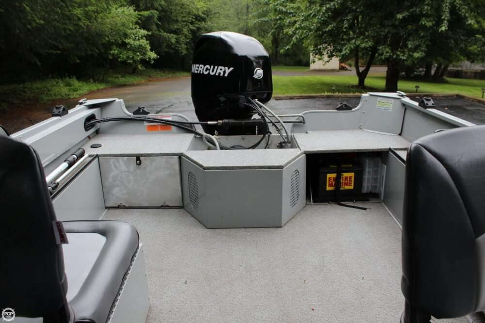 2010 Smoker Craft boat for sale, model of the boat is 162 Tracer & Image # 10 of 40
