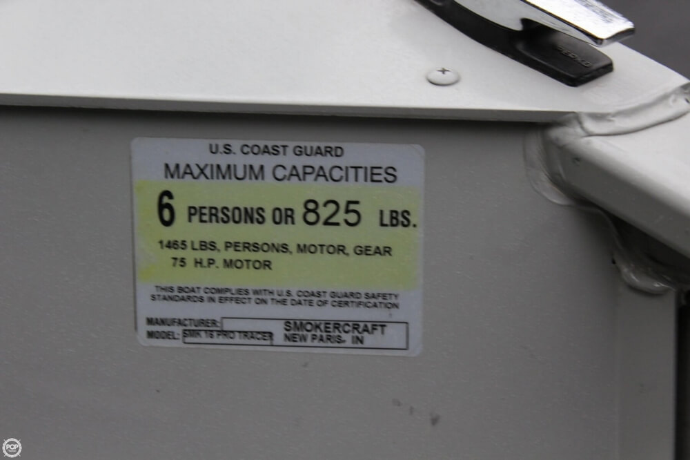 2010 Smoker Craft boat for sale, model of the boat is 162 Tracer & Image # 12 of 40