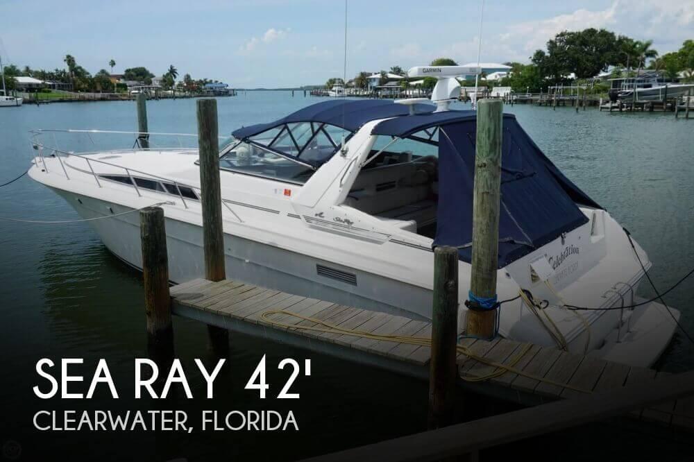 1991 Sea Ray 420 Sundancer - Photo #1