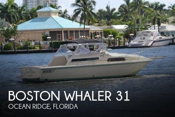 Used Boats For Sale in Port St. Lucie, Florida by owner | 1989 Boston Whaler 32