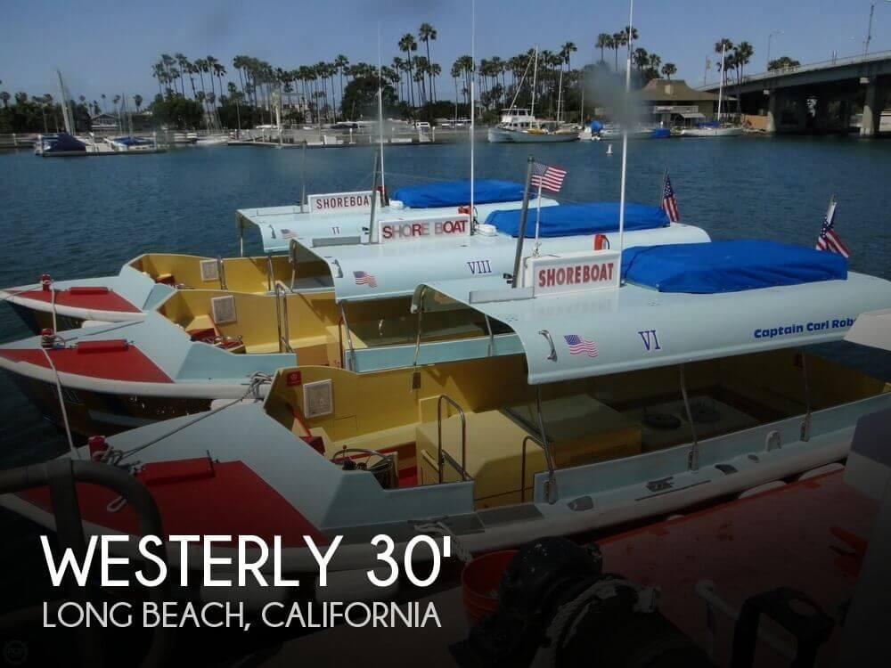 1988 Westerly Marine Custom 30' Water Taxi - Photo #1